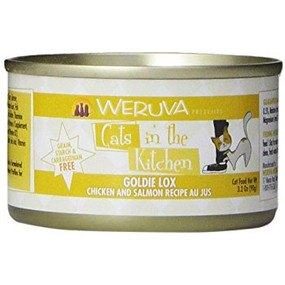 Weruva Cats in the Kitchen Goldie Lox - Chicken & Salmon in Au Jus 3 oz