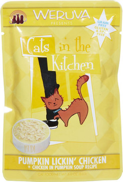 Weruva Cats in the Kitchen Pumpkin Lickin' Chicken Pouch 3 oz