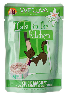 Weruva Cats in the Kitchen Chick Magnet Pouch 3 oz