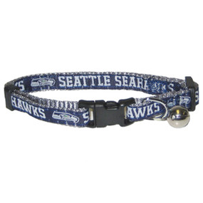 Pets First Seattle Seahawks Cat Collar