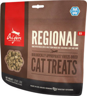 Orijen Regional Red Cat Treats 1.25 oz