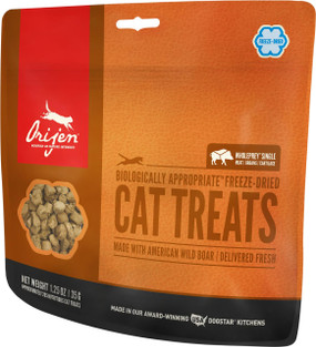 Orijen Wild Boar Cat Treats 1.25 oz