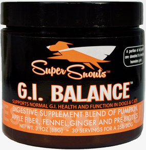 Super Snouts - GI Balance All-In-One Digestive Blend 88 gm Jar
