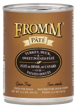 Fromm Grain Free Turkey, Duck & Sweet Potato Pate