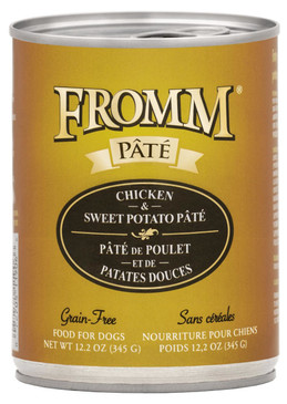 Fromm Grain Free Chicken & Sweet Potato Pate