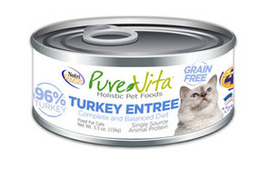 PureVita Turkey Entree Cat
