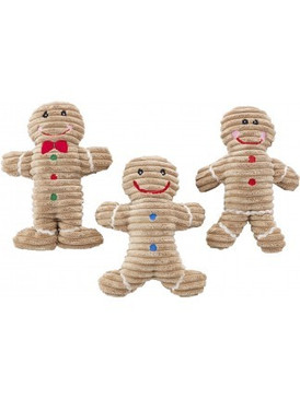 Spot Holiday Corduroy Gingerbread Toy 10""
