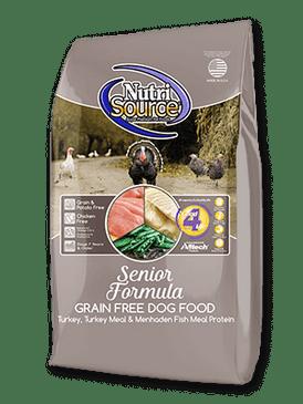 NutriSource Grain Free Senior Formula