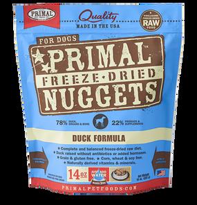 Primal Duck Recipe Freeze Dried Dog Food 14 oz