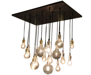 Industrial Chandelier With A Rustic Feel