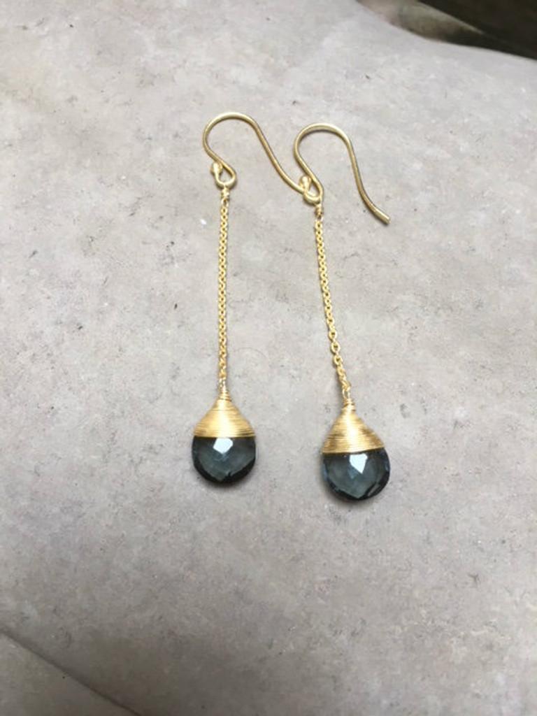 Earrings -  London Blue Topaz