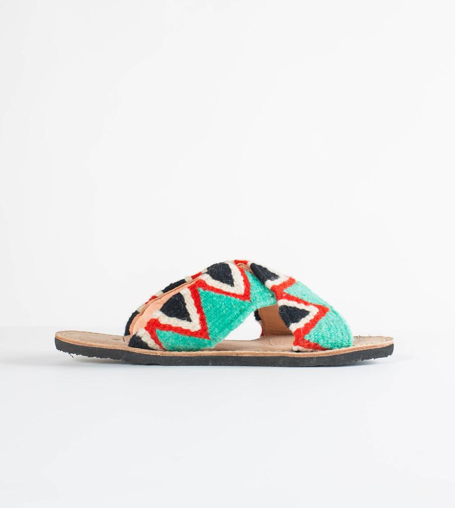 Jing Slide - Turquoise