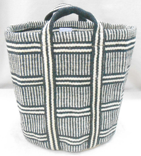 Jute Bag - Multi-Stripes