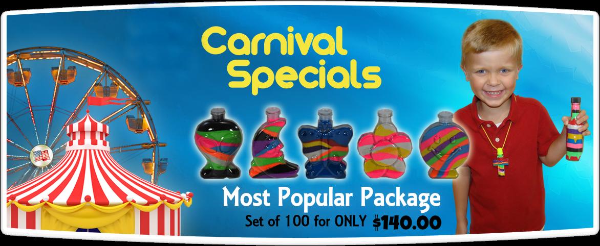 Sand Art Carnival Specials