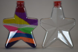 Sand Art Star Bottle