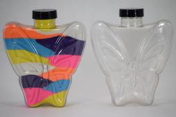 Sand Art Large Butterfly Bottle