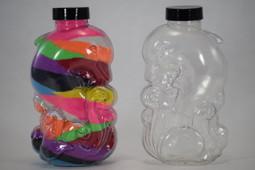 Sand Art Dolphin Plastic Bottle