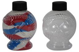 Sand Art Baseball Plastic Bottle
