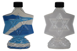 Sand Art Star of David Bottle