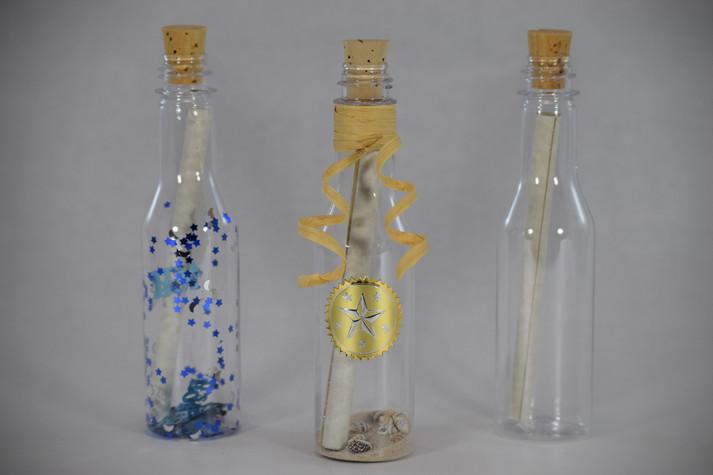 Plastic Message Bottle