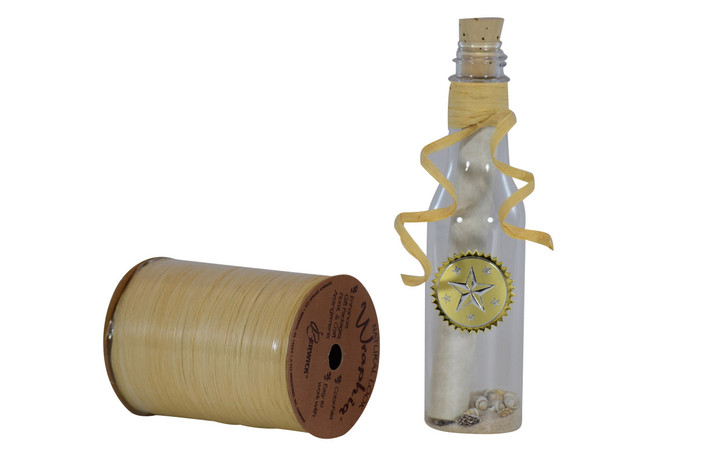 Raffia Ribbon For Message Bottles