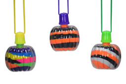 Sand Art Pumpkin Necklaces 50ct