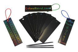 Scratch Art Book Mark