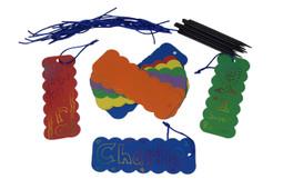 Scratch Art Colorful Bookmark
