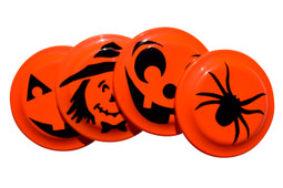 Decorate a Frisbee Halloween Craft Activity