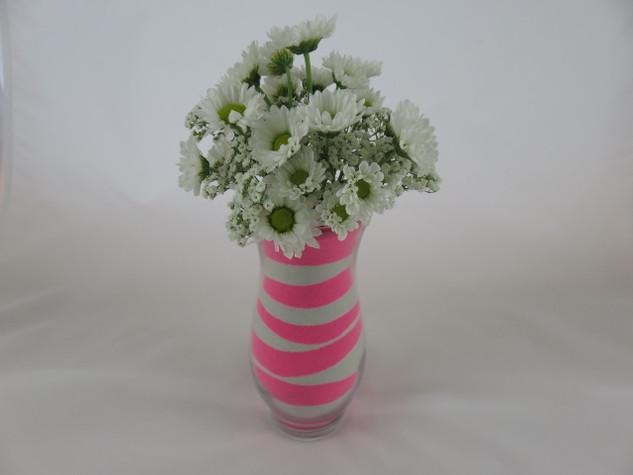 Pink Colored Sand Flower Arrangement