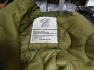 LOT OF 10 -Large LINER for Military Night Desert Parka and other Fishtail Parkas
