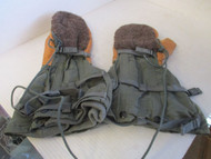 NEW-MIL-M-6269G FLYER'S MITTEN SET-SHELL & WOOL LINER-SIZE LARGE - CIRCA 1987