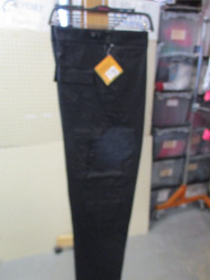 ROTHCO EMT & EMS Uniform Cargo Pants 9 Pocket -STYLE :7823 BLACK SIZE XLARG/REG