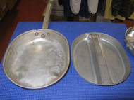 VINTAGE STAINLESS STEEL MESS KIT US REGAL 1966 DSA-400-67-0-0100- TR530