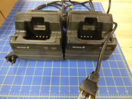 Ericsson M/ACom GE BML16151/505 LPE Radio Rapid Charger - LOT OF 2-USED