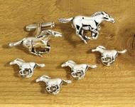 Mustang Cufflinks & Studs Set