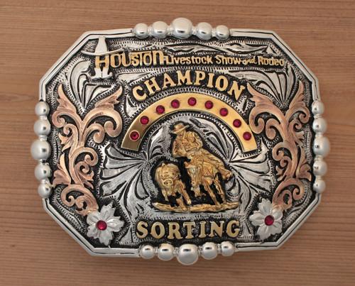 Champion Sorter Plated HLSR Buckle