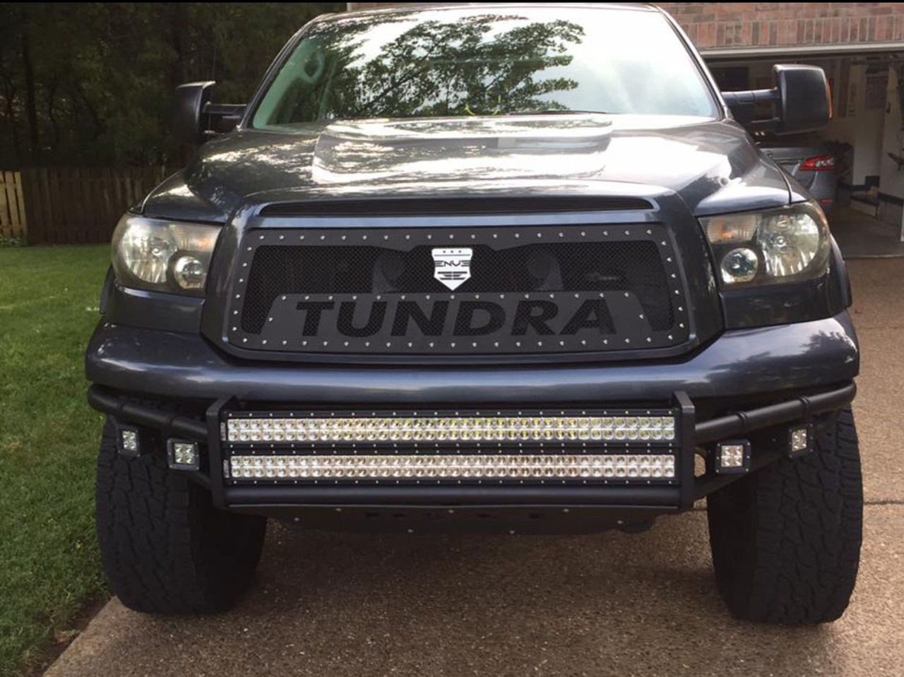 2010 2013 toyota tundra trd style spark enve grilles. Black Bedroom Furniture Sets. Home Design Ideas