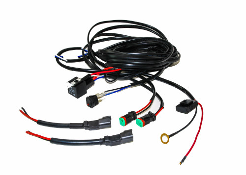 double led wire harness kit heavy duty