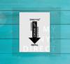 Daily H2O Water Bottle Digital File - Design 4