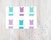 Bunny Name Frames Digital File - 6 Pack