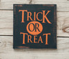 Trick Or Treat Digital File Shown Made Up On Wood