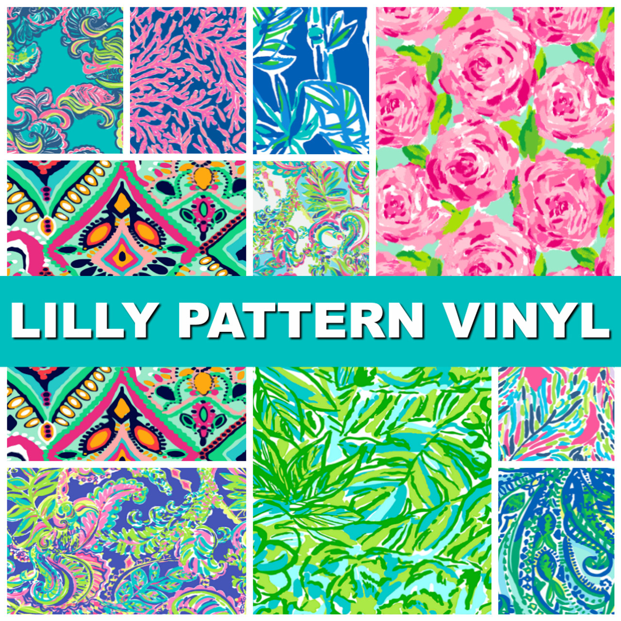 Lilly Pattern Vinyl 12 Quot X12 Quot Collection Gloss 651 My
