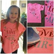 Make Your Own Valentine's Day T Shirt