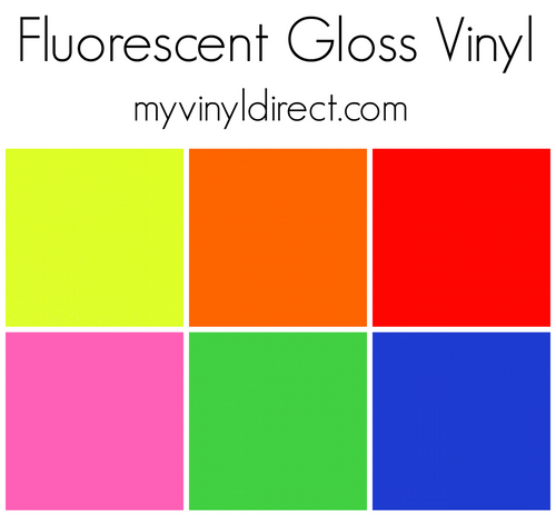 Fluorescent Gloss Vinyls
