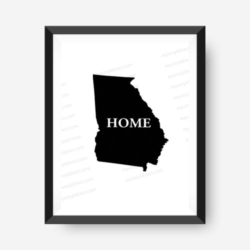 Georgia Home Digital File