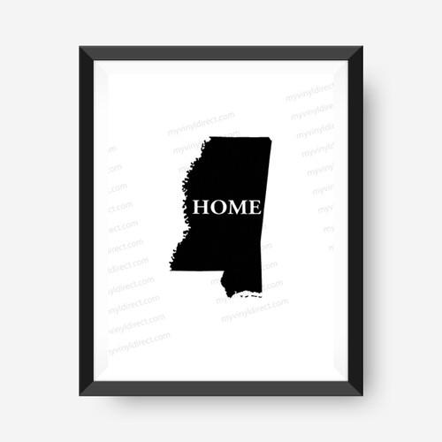 Mississippi Home Digital File