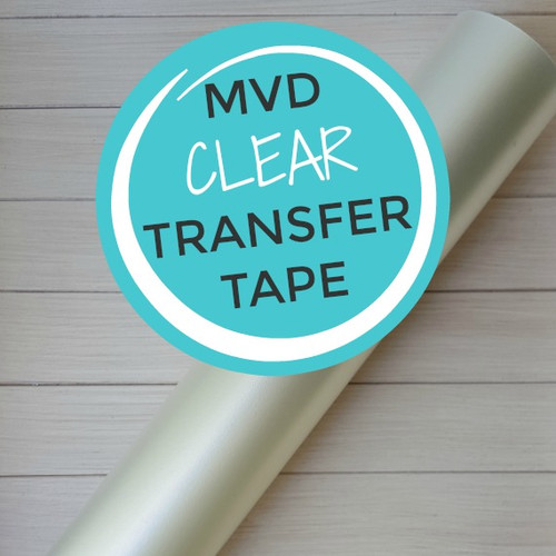 "Clear Transfer Tape 12""x10 Yard Roll"