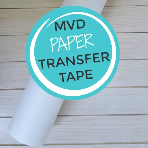 "Paper Transfer Tape 12""x10 Yard Roll"