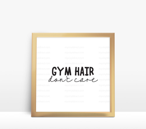 Gym Hair Digital File
